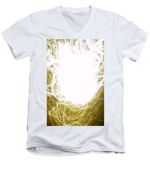 Contemporary Abstraction II Limited Edition 1 Of 1 Men's V-Neck T-Shirt