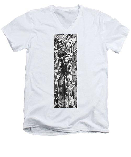 Convenor Men's V-Neck T-Shirt by Carol Rashawnna Williams