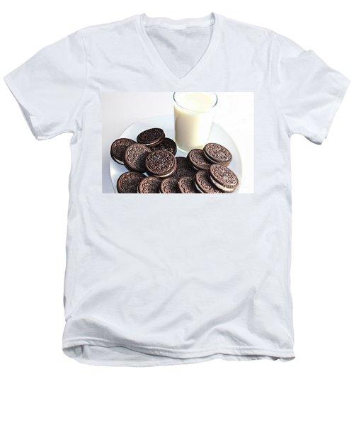 Cookies And Milk Men's V-Neck T-Shirt