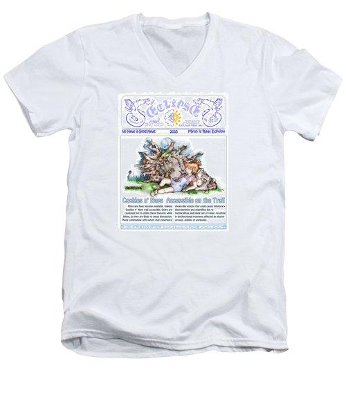 Cookies N' Naps Excerpt Men's V-Neck T-Shirt