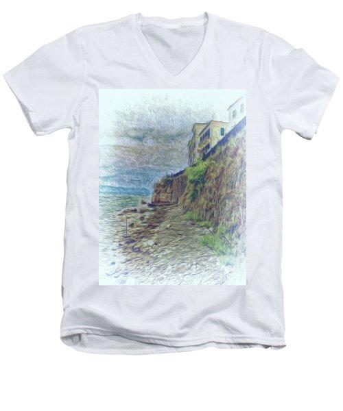 Corfu 33 - Corfu Rocks Men's V-Neck T-Shirt