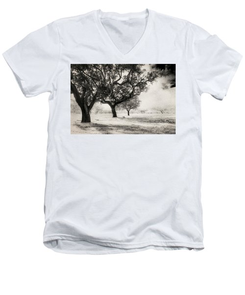Cork Trees Men's V-Neck T-Shirt