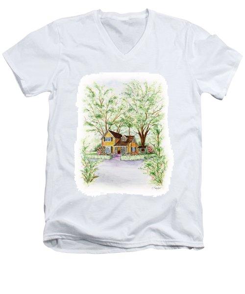 Corner Charmer Men's V-Neck T-Shirt