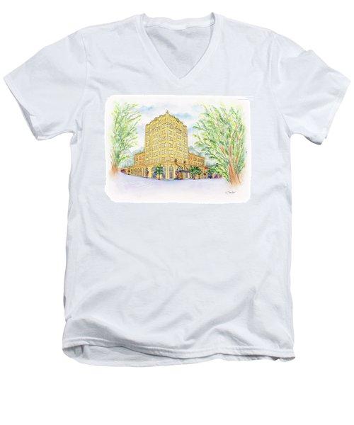 Corner Grandeur Men's V-Neck T-Shirt