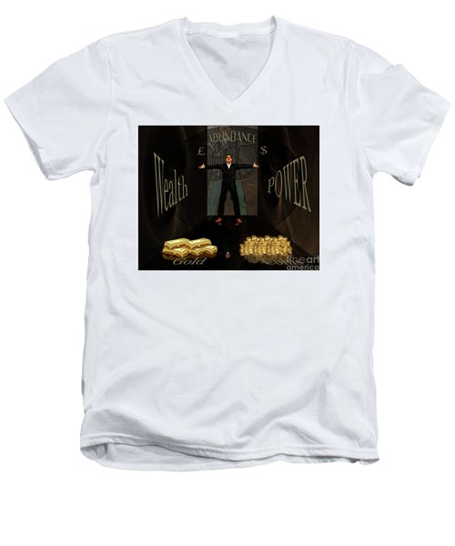 Corridor Of Wealth Men's V-Neck T-Shirt