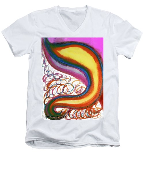 Cosmic Caf Men's V-Neck T-Shirt