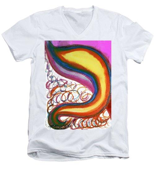 Cosmic Caf Men's V-Neck T-Shirt