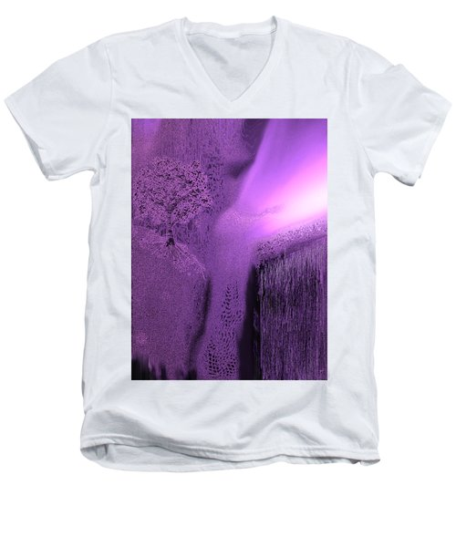 First Light 2 Men's V-Neck T-Shirt by Yul Olaivar