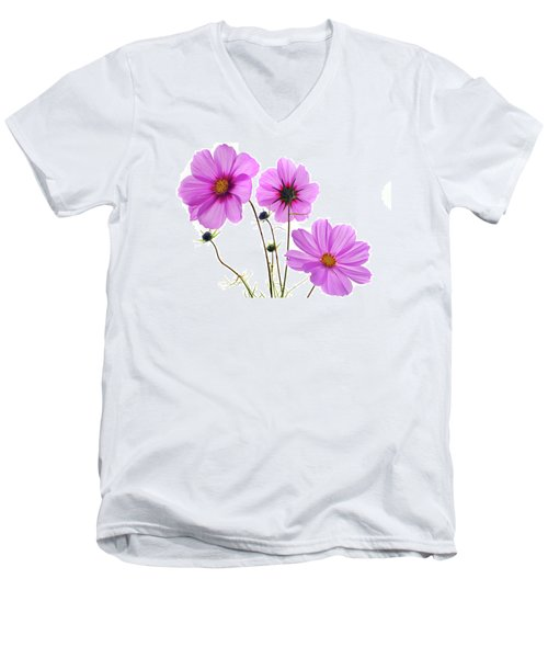 Cosmos Trio Men's V-Neck T-Shirt