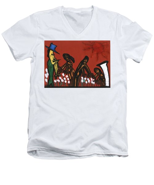 Cotton Pickers Men's V-Neck T-Shirt