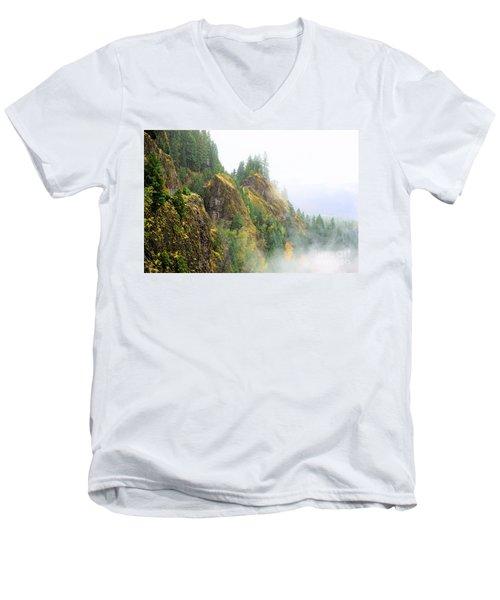 Cougar Reservoir Area Men's V-Neck T-Shirt