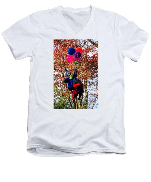 Coulrophobia Men's V-Neck T-Shirt
