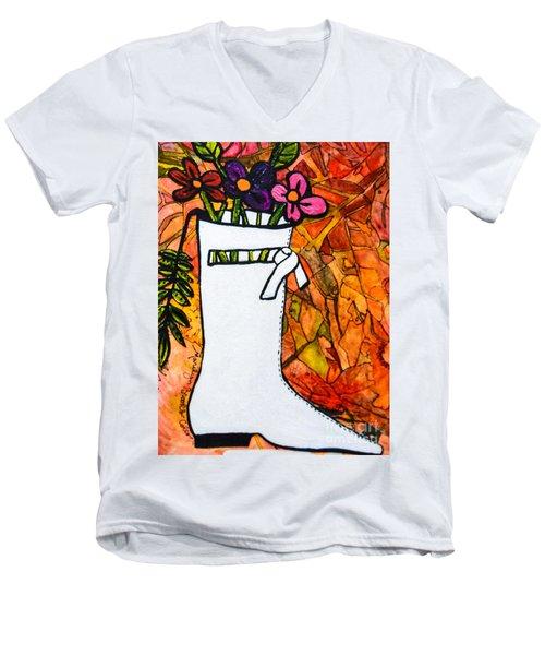 Courreges Men's V-Neck T-Shirt