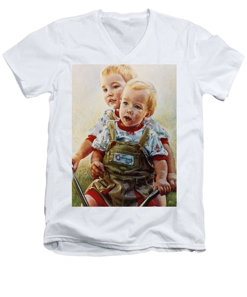 Cousins Men's V-Neck T-Shirt