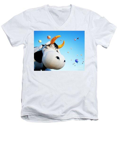 Cowabunga Men's V-Neck T-Shirt