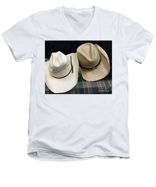 Cowboy Hats Men's V-Neck T-Shirt