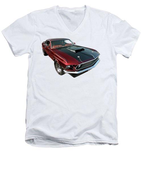 Coz I Can  Men's V-Neck T-Shirt