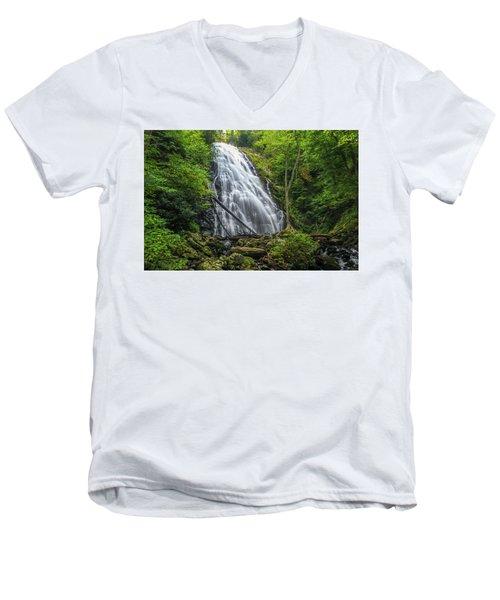 Crabtree Falls Men's V-Neck T-Shirt