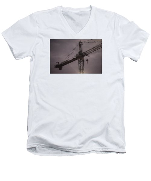Crane Men's V-Neck T-Shirt