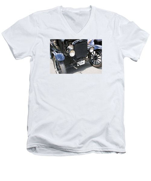 Crank Men's V-Neck T-Shirt