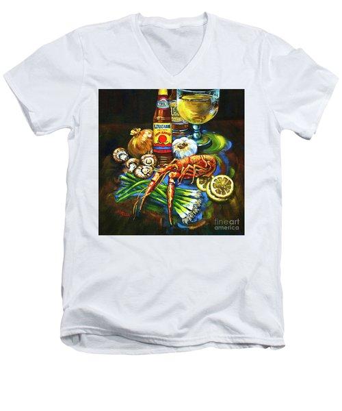 Crawfish Fixin's Men's V-Neck T-Shirt