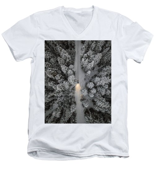 Create Your Own Path  Men's V-Neck T-Shirt