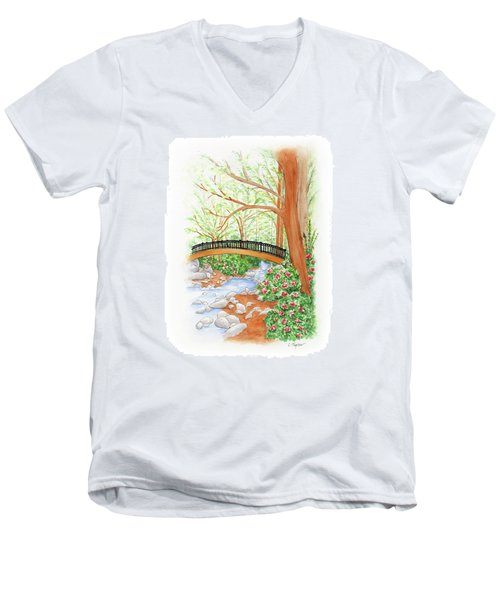 Creek Crossing Men's V-Neck T-Shirt