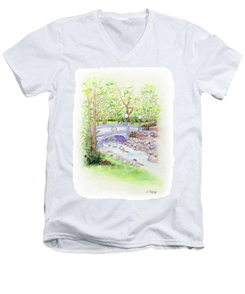 Creekside Men's V-Neck T-Shirt