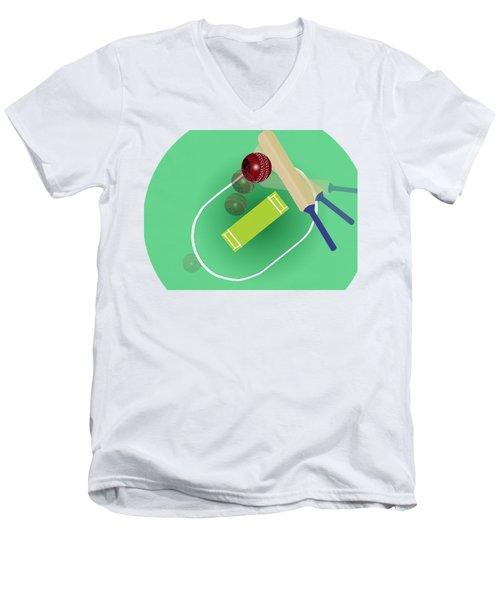 Cricket Men's V-Neck T-Shirt