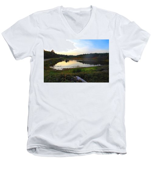 Crooked Lake Road Men's V-Neck T-Shirt