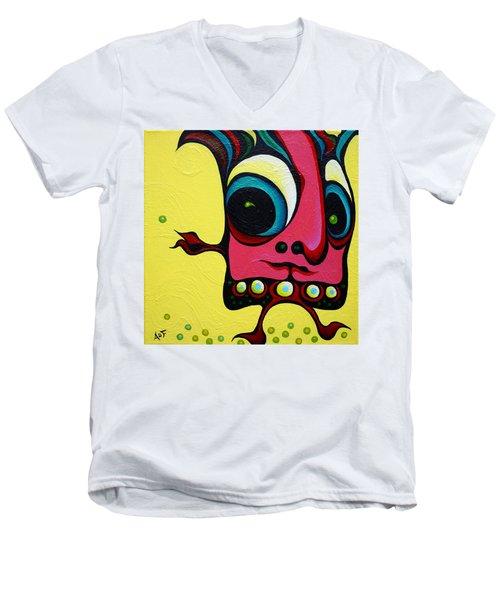 Crop Dustin Men's V-Neck T-Shirt