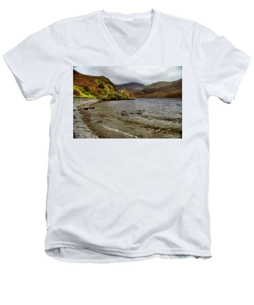 Crummock Water  Men's V-Neck T-Shirt