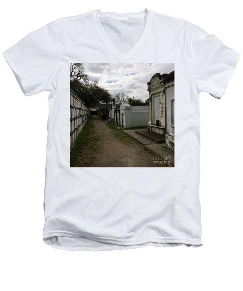 Crypts Men's V-Neck T-Shirt