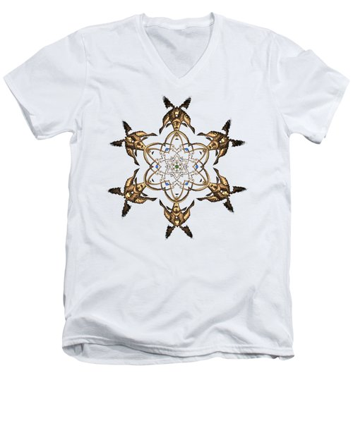 Crystal 24 Men's V-Neck T-Shirt