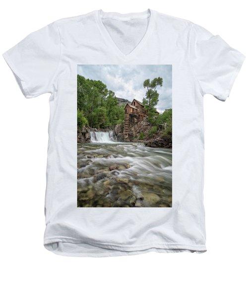Crystal Mill Colorado 2 Men's V-Neck T-Shirt