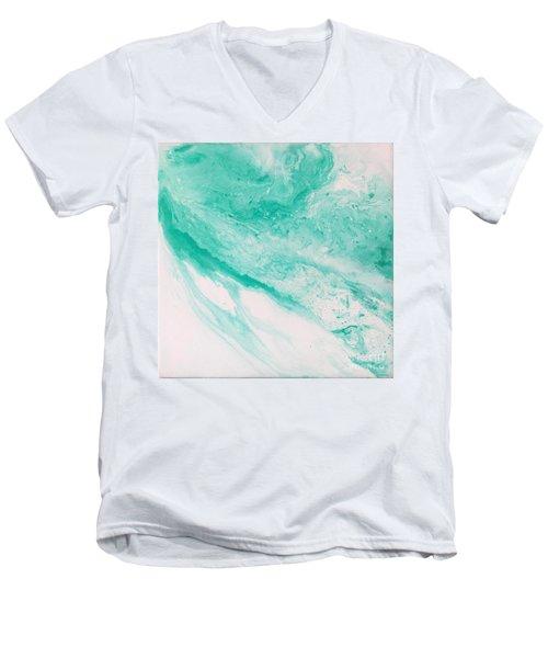 Crystal Wave 1 Men's V-Neck T-Shirt