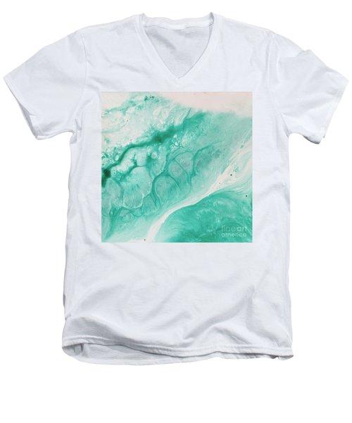 Crystal Wave6 Men's V-Neck T-Shirt