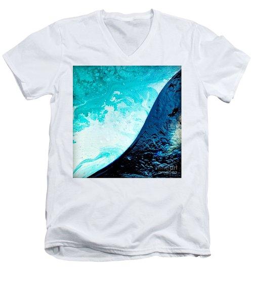 Crystal Wave8 Men's V-Neck T-Shirt