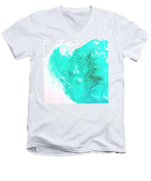 Crystal Wave9 Men's V-Neck T-Shirt