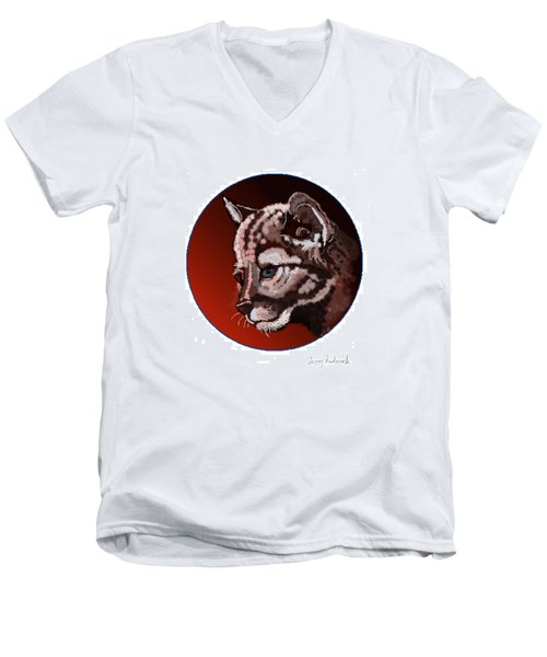Cub Men's V-Neck T-Shirt