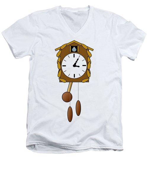 Cuckoo Clock Men's V-Neck T-Shirt