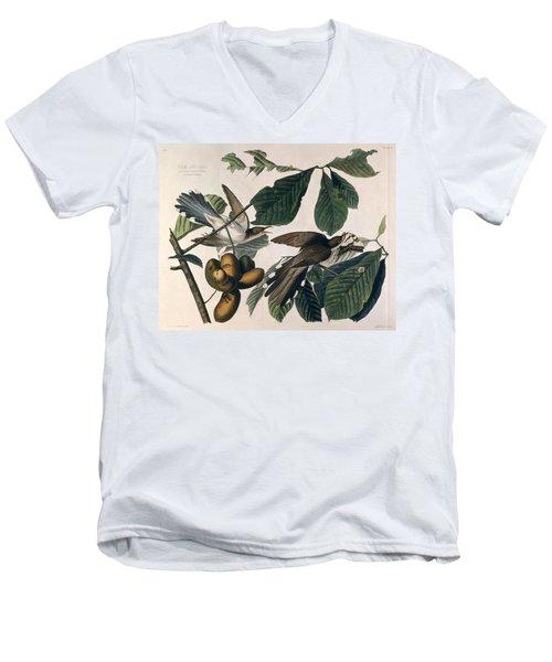 Cuckoo Men's V-Neck T-Shirt by John James Audubon