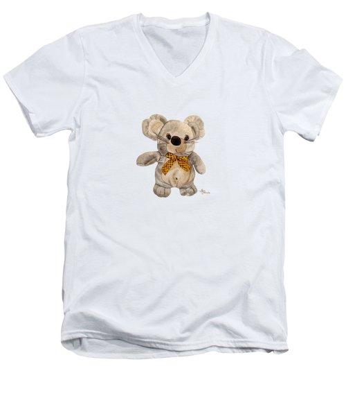 Cuddly Mouse Men's V-Neck T-Shirt