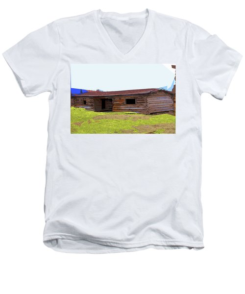 Cunningham Cabin Men's V-Neck T-Shirt