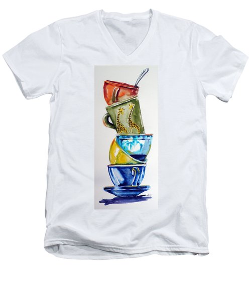 Cups Men's V-Neck T-Shirt