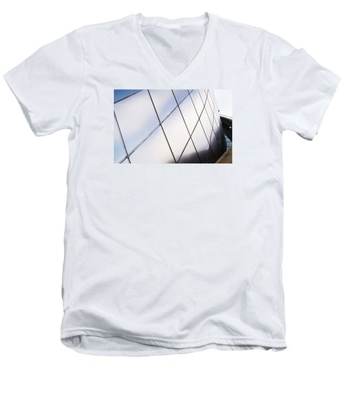 Curve Of The Cone Men's V-Neck T-Shirt by Martin Cline
