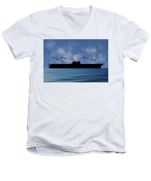 Cus Thomas Jefferson 1932 V1 Men's V-Neck T-Shirt