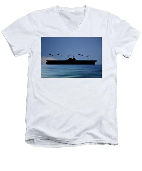 Cus Thomas Jefferson 1932 V4 Men's V-Neck T-Shirt