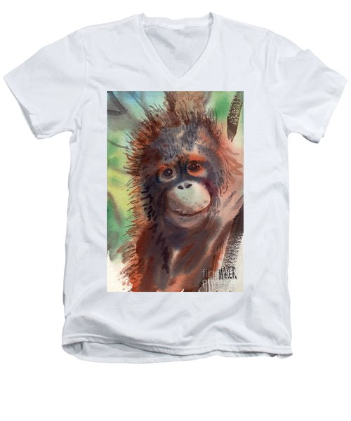 My Precious Men's V-Neck T-Shirt by Donald Maier