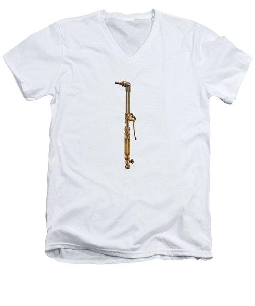 Cutting Torch Men's V-Neck T-Shirt